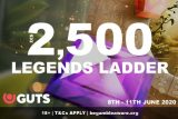 Win Real Cash In The GUTS Casino Legends Ladder Tourney
