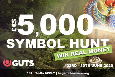 Win Real Money In The GUTS Casino Symbol Hunt Tournament