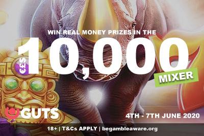 Win Real Cash In GUTS Casino Tournament & Cash Drops