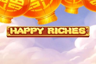 Happy Riches Mobile Slot Logo