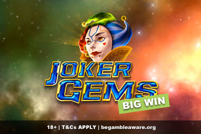 Joker Gems Slot Big Win