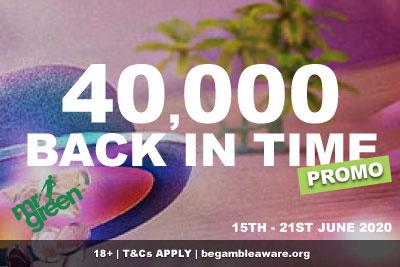 Win Real Money In The Mr Green Casino 40,000 Promo