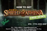 Get Mr Green Free Spins On Shield Of Athena Slot