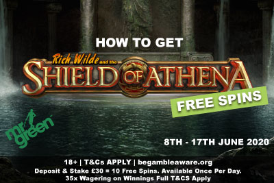 How To Get 100 Free Spins On This New Play N Go Slot At Mr Green