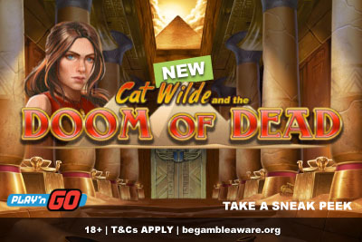 New Cat Wilde Doom of Dead Slot From Play'n GO