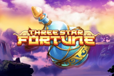Three Star Fortune Mobile Slot Logo