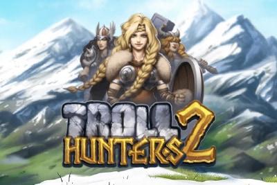 Troll Hunters 2 Mobile Slot Logo