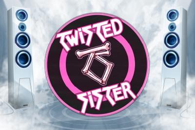 Twisted Sister Mobile Slot Logo
