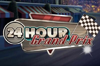 24 Hour Grand Prix Mobile Slot Logo