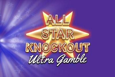 All Star Knockout Ultra Gamble Mobile Slot Logo