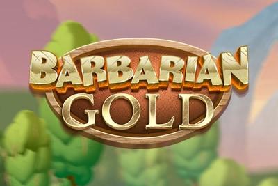 Barbarian Gold Mobile Slot Logo