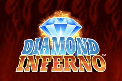 Diamond Inferno Mobile Slot Logo