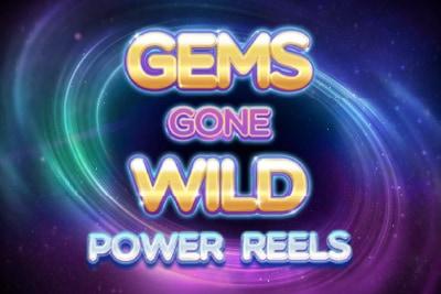 Gems Gone Wild Power Reels Mobile Slot Logo