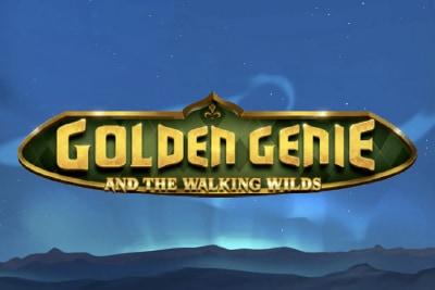 Golden Genie Mobile Slot Logo