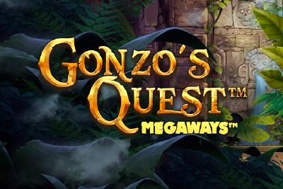 Gonzo's Quest Megaways Mobile Slot Logo