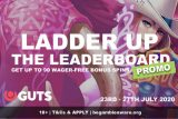GUTS Casino Free Spins Ladder Up Leaderboard