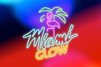 Miami Glow Mobile Slot Logo