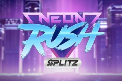 Neon Rush Splitz Mobile Slot Logo