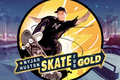Skate For Gold Mobile Slot Logo