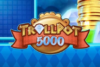Trollpot 5000 Mobile Slot Logo