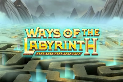 Ways of the Labyrinth Mobile Slot Logo