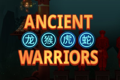 Ancient Warriors Mobile Slot Logo