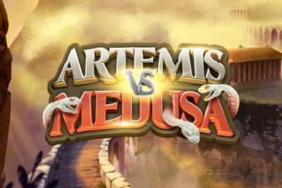 Artemis vs Medusa Mobile Slot Logo