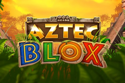 Aztec Blox Mobile Slot Logo