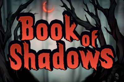 Book of Shadows Mobile Slot Logo