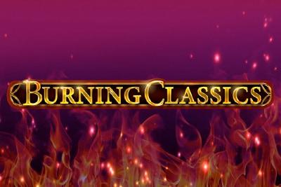 Burning Classics Mobile Slot Logo