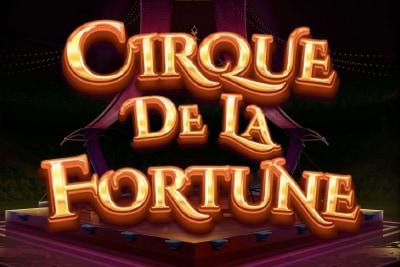 Cirque De La Fortune Mobile Slot Logo