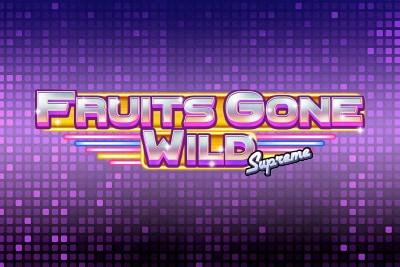 Fruits Gone Wild Supreme Mobile Slot Logo