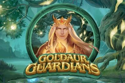 Goldaur Guardians Mobile Slot Logo