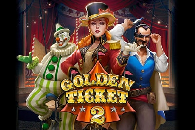 Golden Ticket 2 Mobile Slot Logo