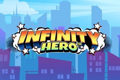 Infinity Hero Mobile Slot Logo