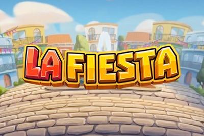 La Fiesta Mobile Slot Logo
