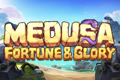 Medusa Fortune & Glory Mobile Slot Logo