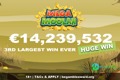 Huge Mega Moolah Jackpot Win In Sweden