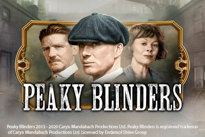 Peaky Blinders Mobile Slot Logo