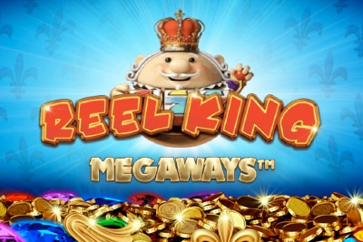 Reel King Megaways Mobile Slot Logo