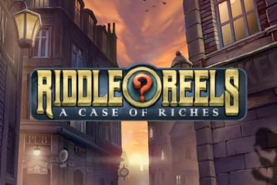 Riddle Reels Mobile Slot Logo