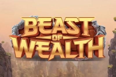 Beast of Wealth Mobile Slot Logo