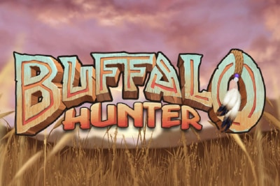 Buffalo Hunter Mobile Slot Logo