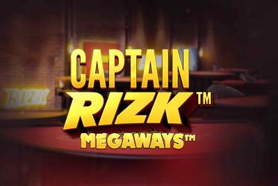 Captain Rizk Megaways Mobile Slot Logo