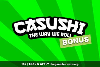 Casushi Mobile Casino Bonus