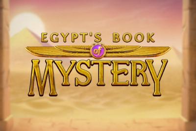Egypts Book of Mystery Mobile Slot Logo