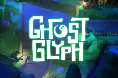 Ghost Glyph Mobile Slot Logo
