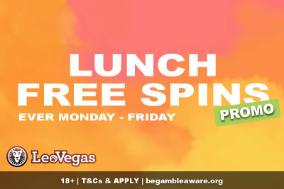 Get Your LeoVegas Casino Free Spins Every Weekday