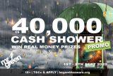 Enter The Mr Green Cash Shower In September