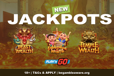 New Play'n GO Jackpot Slots - A Trio of Wealth